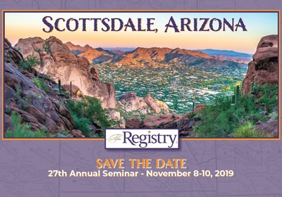 2019 Annual Seminar - Scottsdale, AZ - November 8-10th