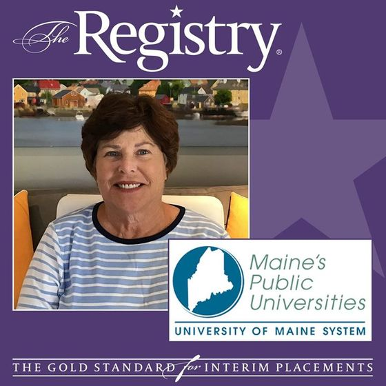 The Registry is pleased to announce the appointment of Carol Corcoran as Interim Chief Human Resources Officer at University of Maine System