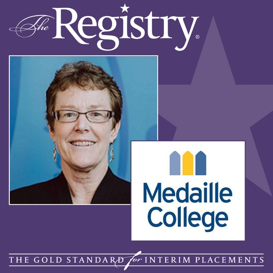The Registry is pleased to announce the appointment of Janel Curry as Interim Vice President of Academic Affairs at Medaille College