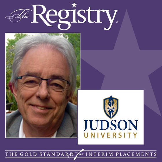 The Registry is pleased to announce the appointment of Ronald Daniel as Interim Special Advisor to the Provost/Chair of the Department of Architecture and Interior Design at Judson University