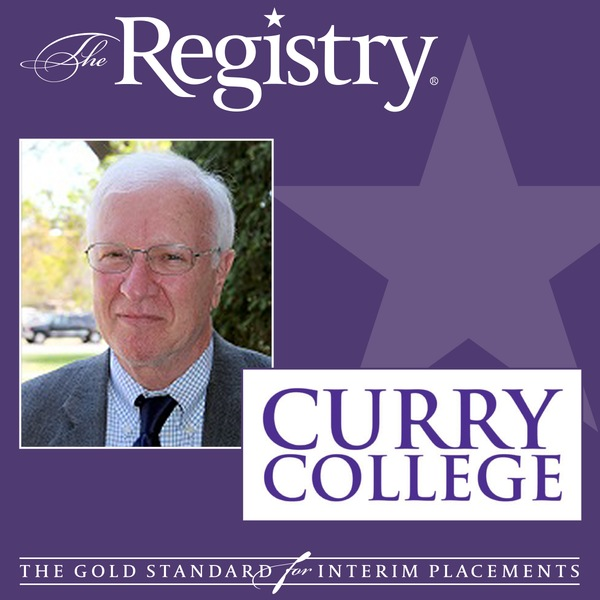 The Registry is pleased to announce the appointment of Patrick Lepore as Interim Chief Information Officer Affairs at Curry College