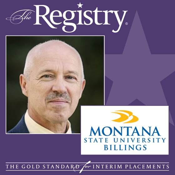 The Registry is pleased to announce the appointment of Richard Beer as Interim Dean of the College of Business at Montana State University-Billings