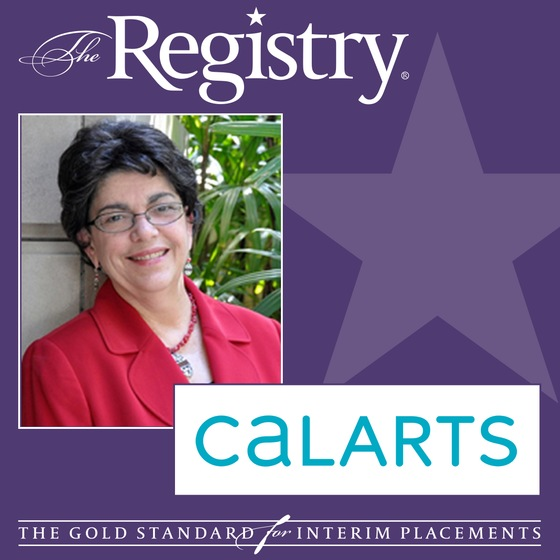 The Registry is pleased to announce the appointment of Yvonne Berry as Interim Senior Vice President of Finance and Administration at California Institute of the Arts