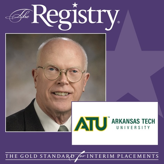 We are proud to announce the appointment of Walter Branson as Interim Vice President for Administration and Finance & CFO at Arkansas Tech University