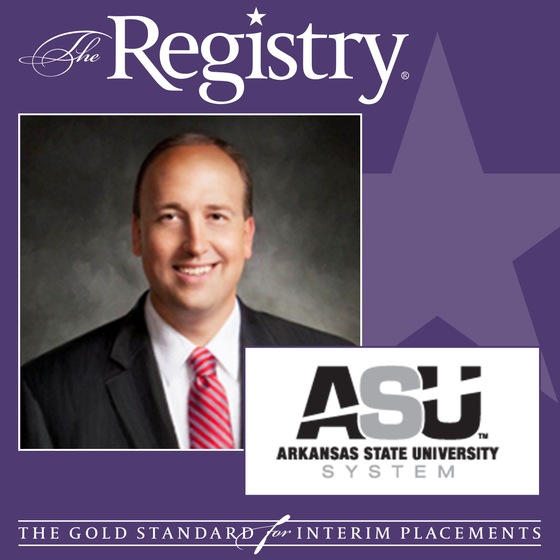 Charles L. Welch, VP at the Arkansas State University System Speaks About Working with The Registry