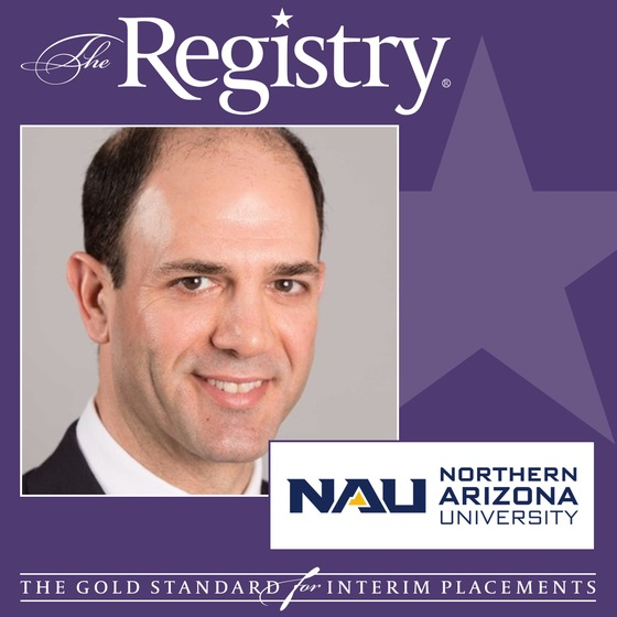 The Registry is pleased to announce the appointment of Scott Brown as Interim Dean of Students at Northern Arizona University