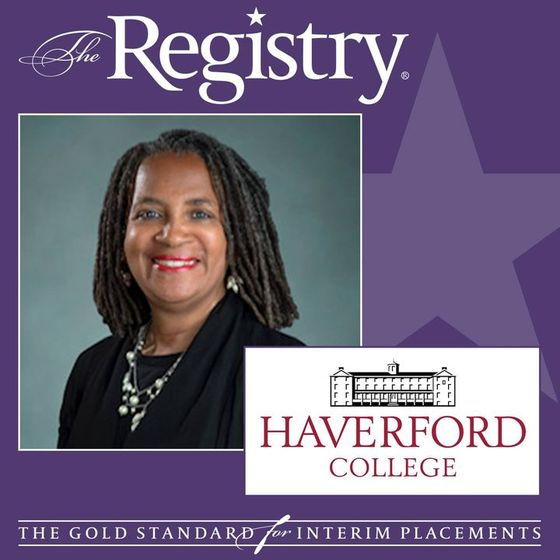 The Registry is pleased to announce the appointment of Marie Billie as Interim Assistant Vice President and Chief Human Resources Officer at Haverford College
