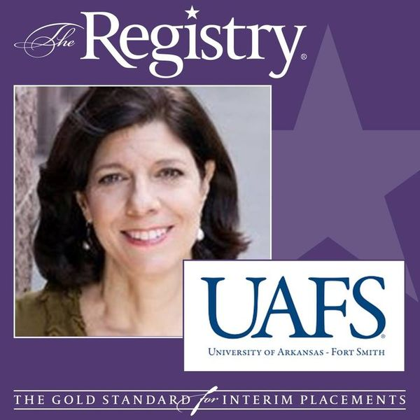 The Registry is pleased to announce the appointment of Kathy McDermott as Vice Chancellor of Finance and Administration/CFO at University of Arkansas - Fort Smith