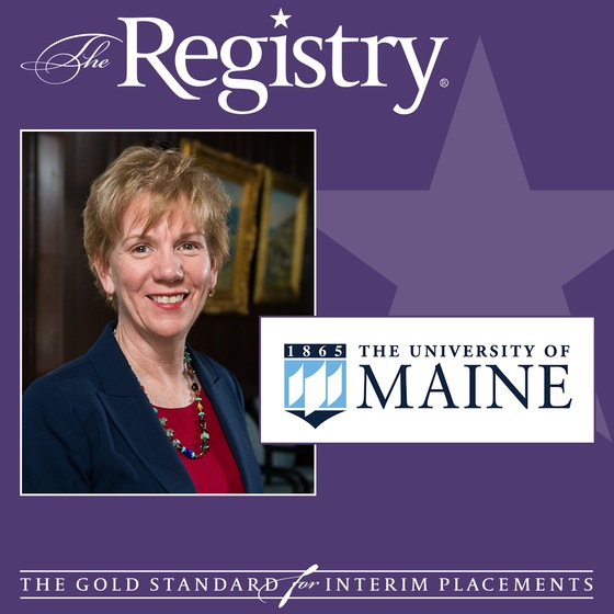 The Registry is pleased to announce the appointment of Joanne Yestramski as Interim Vice President and Chief Business Officer for the University of Maine System