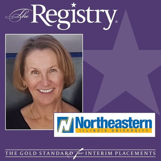 The Registry is pleased to announce the appointment of Marsha Henfer as Interim Chief Information Officer at Northeastern Illinois University