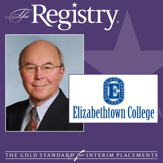 We are pleased to announce the appointment of John Beckvold as Interim Vice President Administration & Auxiliary Services at Elizabethtown College