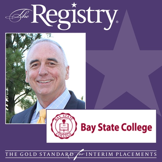 The Registry is pleased to announce the appointment of Patrick Quinn as Interim Dean of Admissions at Bay State College