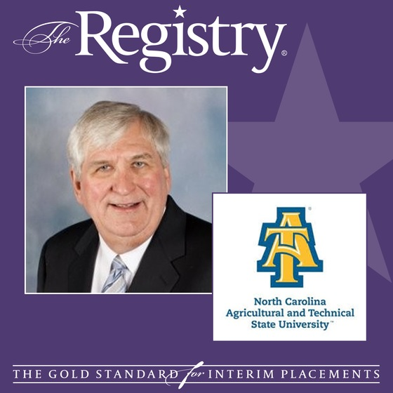 Member Ralph Rogers has been named Interim Special Assistant to the Dean for the Joint School of Nanoscience and Nanoengineering at North Carolina A&T State University.