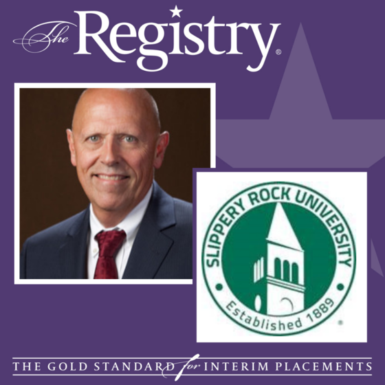 Best wishes to Member John Bonaguro as he takes on his role as Interim Founding Dean of the College of Health Professions at Slippery Rock University of Pennsylvania.
