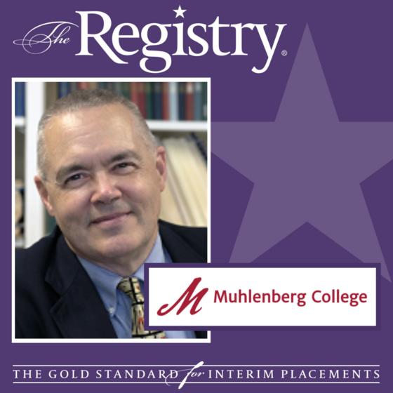Congratulations to Member Scott Dittman on his placement as Interim Registrar at Muhlenberg College.