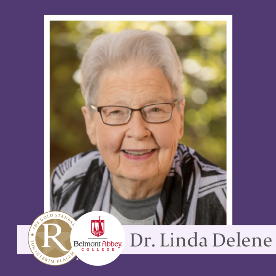 Congratulations to Registry Member Linda Delene on Completing Her Transformational Tenure at Belmont Abbey College