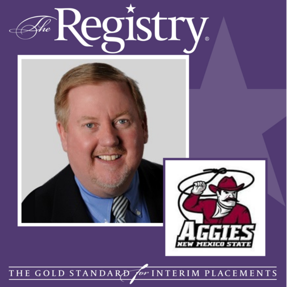 Congratulations to Registry Member Chris Kielt on his placement as Interim Chief Information Officer at New Mexico State University.
