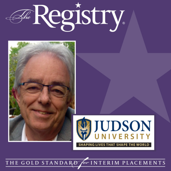 Congratulations to Registry Member Ronald Daniel on a successful year as Interim Special Advisor to the Provost/Chair of the Department of Architecture and Interior Design at Judson University.