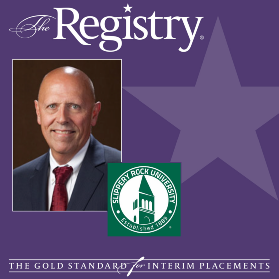 Proud to share that Slippery Rock University has approved the creation of the College of Health Professions with the help of Registry Member John Bonaguro, Interim Founding Dean.