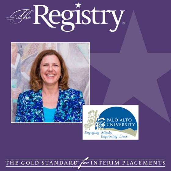 The Registry is thrilled to share the following proclamation bestowed on our Interim Dr. Risa Dickson by the Board of Trustees of Palo Alto University.