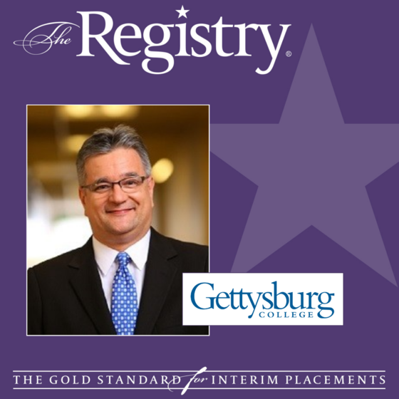 Well wishes to Registry Member Carlos Tasso Aquino as he continues his placement as Chief Diversity Officer at Gettysburg College.